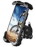 Lamicall Handyhalterung Fahrrad, Handyhalter Motorrad - Universal 360 Drehung Outdoor Fahrrad Halter für iPhone 12 Mini, 12 Pro Max, 11 Pro Max, Xs Max, XR, X, 8, 7, 6S, Samsung S10 S9 S8, Smartphone